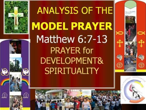 A2.Model Prayer